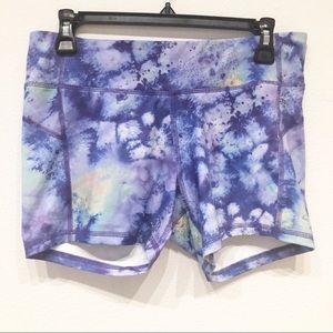 Champion Large purple workout shorts